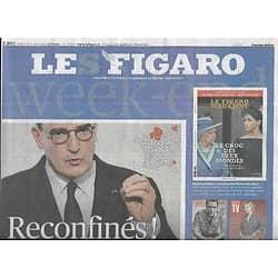 LE FIGARO n°23818 19/03/2021  Reconfinés!/ Biden vs Poutine/ Crise sanitaire: manque d'anticipation/ Les élèves commissaires/ Jim Carrey/ W.Sheller