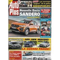 AUTO PLUS n°1683 04/12/2020  Nouvelle Dacia Sandero/ Projets secrets de BMW, Audi & Mercedes/ Bonne occas' pour 2000€