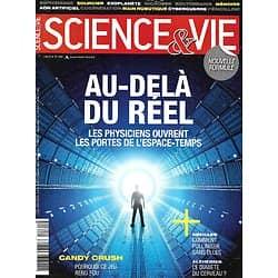 SCIENCE&VIE n°1161 juin 2014  Au-delà du réel, les portes de l'espace-temps ouvertes/ Polliniser sans abeilles/ Addiction à Candy Crush/ Alzheimer & diabète