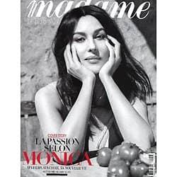 MADAME FIGARO n°23848 (n°1913) 23/04/2021  La passion selon Monica Bellucci/ Edouard Philippe/ Julia Roberts/ Ophélie Guillermand
