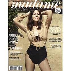 MADAME FIGARO n°29 mai 2021  Monica Bellucci, passion cinéma/ Edouard Philippe/ Julia Roberts/ Ophélie Guillermand / Cuisine de l'espace