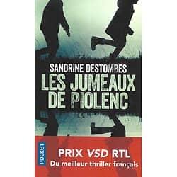 """""""Les jumeaux de Piolenc"""" Sandrine Destombes/ Comme neuf/ 2020/ Livre poche"""