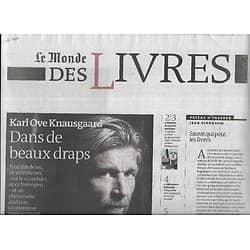 LE MONDE DES LIVRES 31/10/2014  Karl Ove Knausgaard/ le roman gothique/ Alice Munro/ Saul Friedländer & Kafka