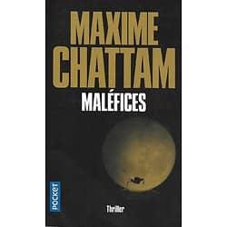 """""""Maléfices"""" (La trilogie du Mal 3) Maxime Chattam/ Très bon état/ 2019/ Livre poche"""