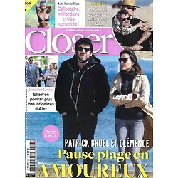 CLOSER n°828 23/04/2021  Patrick Bruel/ Laeticia & Jalil/ Kim Kardashian/ Jennifer Lopez/ Robin Wright/ Hoshi