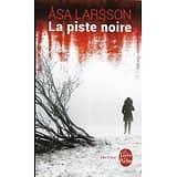 """""""La piste noire"""" Asa Larsson/ Très bon état/ 2016/ Livre poche"""