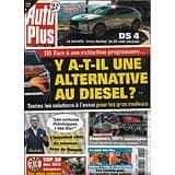 AUTO PLUS n°1692 05/02/2021  Y a-t-il une alternative au diesel?/ Compteurs 100% numériques/ La nouvelle DS4