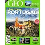 GEO n°505 mars 2021  L'âge d'or du Portugal/ Le fleuve Indus/ Route 66/ Macédoine du Nord/ Chevaliers de Kinshasa