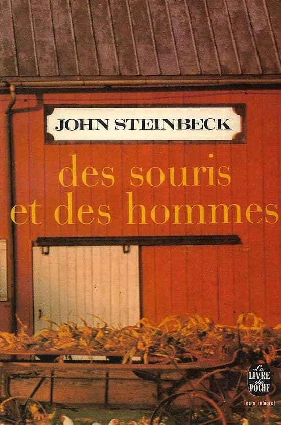 """""""Des souris et des hommes"""" John Steinbeck/ Très bon état/ Livre poche"""