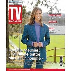 """TV MAGAZINE 25/04/2021 n°1784  Ophélie Meunier se livre/ """"Koh-Lanta"""" la réunification/ Stéphane Thebaut/ Dans les pas de Napoléon"""