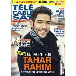 Télé Cable Sat n°1614 10/04/2021  Tahar Rahim, un talent fou/ Elisabeth II/ Bad boys du tennis/ Joeystarr/ Bertrand Tavernier