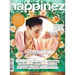 HAPPINEZ n°42 juillet-août 2019  Vivre au rythme des saisons/ Révolution verte/ Frédéric Lenoir/ Isabelle Carré/ Lieux secrets/ Energie positive