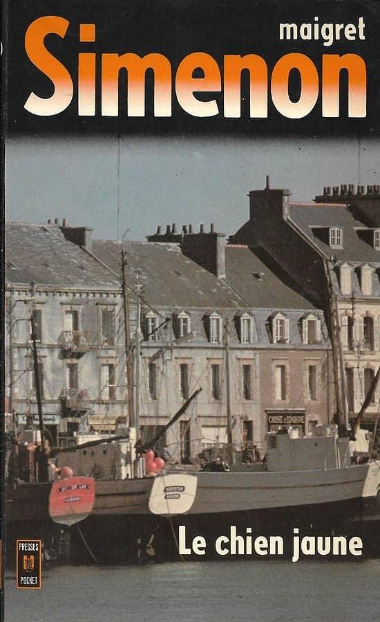 """""""Le chien jaune"""" (Maigret) Simenon/ Bon état d'usage/ 1981/ Livre poche"""
