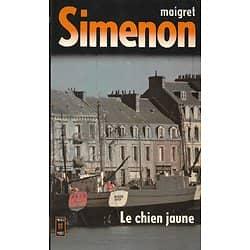 """""""Le chien jaune"""" (Maigret) Simenon/ Bon état d'usage/ Livre poche"""