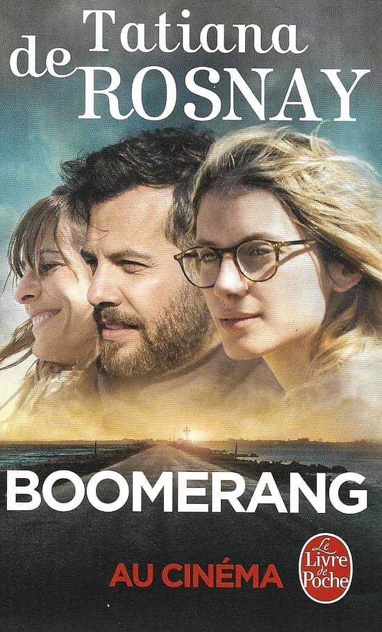 """""""Boomerang"""" Tatiana de Rosnay/ Très bon état/ Livre  poche"""