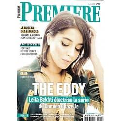 "PREMIERE n°506 avril 2020  Leïla Bekhti électrise ""The Eddy""/ Eric Rochant & Jacques Audiard/ James Bond/ Elsa Zylberstein/ Guy Pearce"