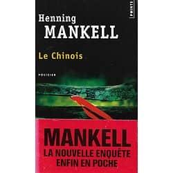 """""""Le Chinois"""" Henning Mankell/ Très bon état/ Livre poche"""
