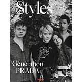 L'EXPRESS STYLES n°3400 31/08/2016  Génération Prada: Mia Wasikowska, Dane Deehan, Ansel Elgort & Mia Goth