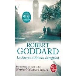 """Le secret d'Edwin Strafford"" Robert Goddard/ Très bon état/ 2020/ Livre poche"