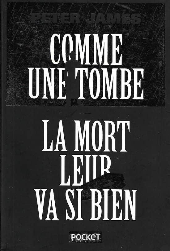 """""""Comme une tombe"""" & """"La mort leur va si bien"""" Peter James/ Très bon état/ Edition limitée/ Livre poche"""