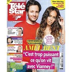 """TELE STAR n°2327 08/05/2021  Amel Bent & Vianney """"The Voice""""/ Hélène de Fougerolles & Bruno Salomone/ Mélanie Laurent/ marie-France Pisier"""