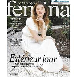 VERSION FEMINA n°997 10/05/2021 Robes légères/ Victor Belmondo/ Soins corps/ Bienfaits des fibres/ Malnutrition chronique