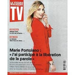 """TV MAGAZINE 16/05/2021 n°1789  Marie Portolano, entretien exclusif/ Barbara Pravi-Eurovision/ """"Plan B"""""""