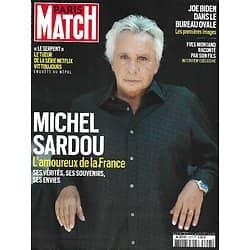 PARIS MATCH n ° 3757 06/05/2021 Michel Sardou, l'amoureux de la France/ Joe Biden dans le bureau ovale/ Yves Montand raconté par son fils/ Mali: à l'école des Forces Spéciales