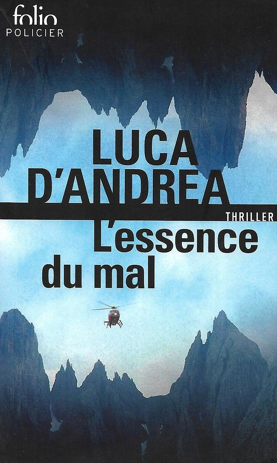 """""""L'essence du mal"""" Luca d'Andrea/ Très bon état/ Livre poche"""