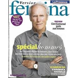 VERSION FEMINA n°407 16/01/2010 Clint Eastwood/  Spécial Hommes/ Alain Ducasse
