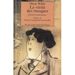"""""""La vérité des masques - Essais et aphorismes"""" Oscar Wilde/ Bon état/ Livre poche"""