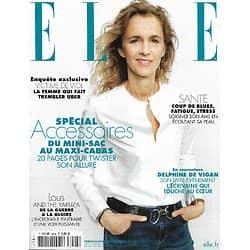 ELLE n°3924 05/03/2021  Delphine de Vigan touche au coeur/ Spécial accessoires/ Delphine Horvilleur/ Carolyn Murphy/ Lous and the Yakuza