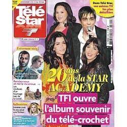 "TELE STAR n°2323 22/05/2021  20 ans de la Star Academy/ Christopher Bayemi ""Luther""/ Nicolas Bedos/ Vianney ""Rdv en terre inconnue"""