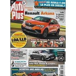 AUTO PLUS n°1697 12/03/2021 Renault Rakana/ Comparatif LOA & LLD/ Révélations Mercedes/ Audi A3