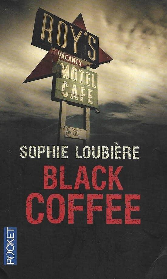 """""""Black Coffee"""" Sophie Loubière/ Très bon état/ Livre poche"""