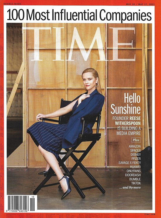 TIME VOL.197 17&18 May 10th 2021  100 Most Influential Companies/ Reese Witherspoon/ Covid-19 outbreak in India/ Justice for George Floyd