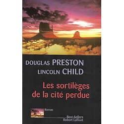 """""""Les sortilèges de la cité perdue"""" Preston & Child/ Bon état/ Livre grand format"""