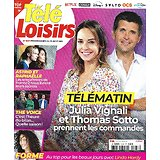 "TELE LOISIRS n°1837 15/05/2021  Julia Vignali & Thomas Sotto/ Au top avec Linda Hardy/ ""The Voice""/ Ernest Hemingway"