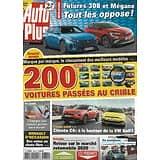 AUTO PLUS n°1689 15/01/2021  Essais: 200 voitures passées au crible/ Citroën C4 vs VW Golf/ Futures Peugeot 308 & Mégane