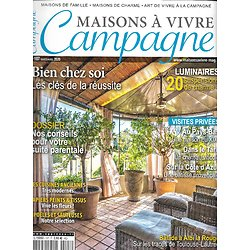MAISON A VIVRE CAMPAGNE n°107 mars-avril 2020  Bien chez soi: les clés de la réussite/ Suite parentale/ Luminaires/ Balade à Albi