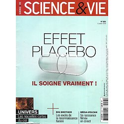 SCIENCE&VIE n°1225 octobre 2019  Effet placebo: il soigne vraiment!/ Reconnaissance faciale/ Méga-volcan/ Nouvelles cartes du ciel