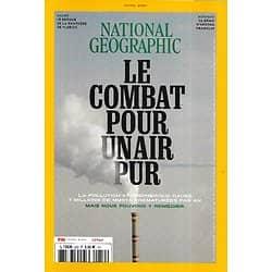 NATIONAL GEOGRAPHIC n°259 avril 2021  Pollution atmosphérique: Le combat pour un air pur/ Le génie d'Aretha Franklin/ Le retour de la panthère de Floride
