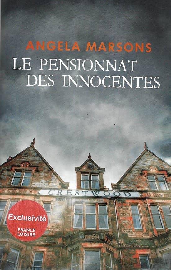 """""""Le pensionnat des innocentes"""" Angela Marsons/ Très bon état/ Livre broché"""