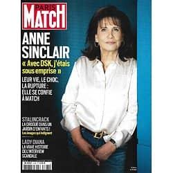 PARIS MATCH n°3760 27/05/2021  Anne Sinclair, l'heure de vérité/ Lady Diana, l'interview-scandale/ Paris: le parc des drogués/ Picasso & Rodin, face-à-face