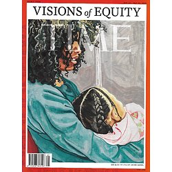 TIME VOL.197 19&20 May 24th 2021  Visons of equity/ Environmental time bomb/ Mayorka's quest/Colson Whitehead & Margaret Atwood