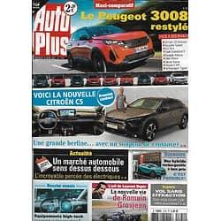 AUTO PLUS n°1702 16/04/2021  Nouvelle Citroën C5/ Peugeot 3008 restylé/ Equipements high-tech/ Occasion hybride rechargeable