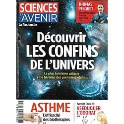 SCIENCES ET AVENIR n°891 mai 2021  Les confins de l'Univers/ Thomas Pesquet dans l'ISS/ Traiter l'asthme sévère/ Rééduquer l'odorat