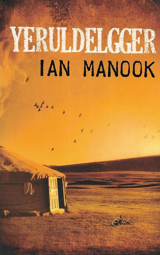 """Yeruldelgger"" Ian Manook/ Comme neuf/ Livre grand format ou poche"