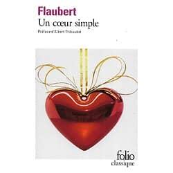 """""""Un coeur simple"""" Flaubert/ Folio Classique/ Comme neuf/ Livre poche"""