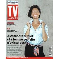 """TV MAGAZINE 20/06/2021 n°1794  Alessandra Sublet évoque son livre/ """"Friends"""" de retour/ """"Fort Boyard"""" les surprises"""